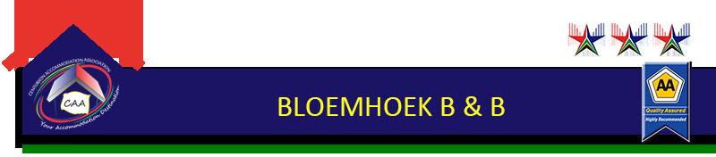 Bloemhoek B&B Button