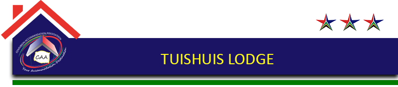 Tuishuis Lodge Button