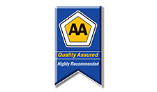 AA Accredited Accommodation Grey