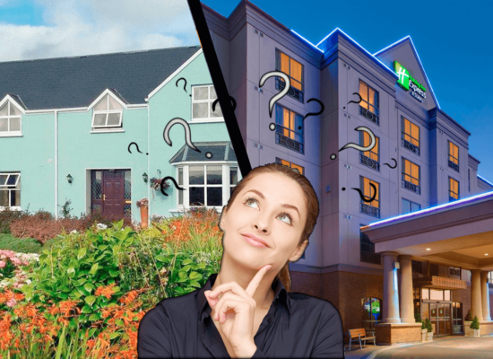 Guesthouse vs Hotels Blog CAA